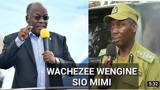 MAGUFULI: Kwanzia leo wewe sio kamanda tena,Ondoka kabisa mimi sichezewi!