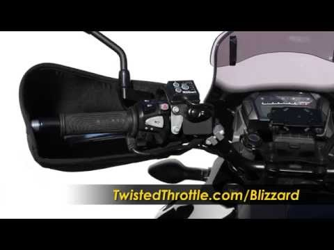 Barkbusters Blizzard Cold Weather Handguards For Motorcycle, ATV And Snowmobiles