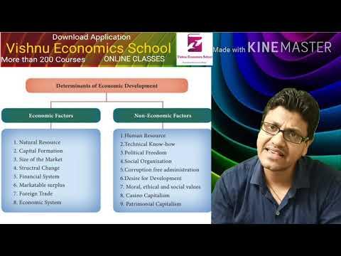 Factors affecting economics
