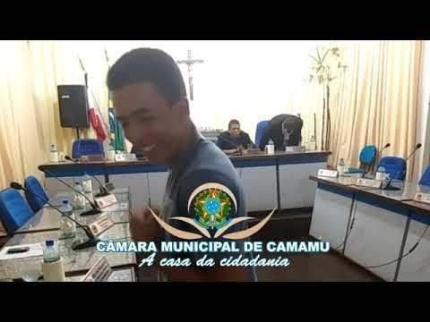 Transmissão da ultima sessão da Câmara de vereadores de Camamu no ano de 2019.