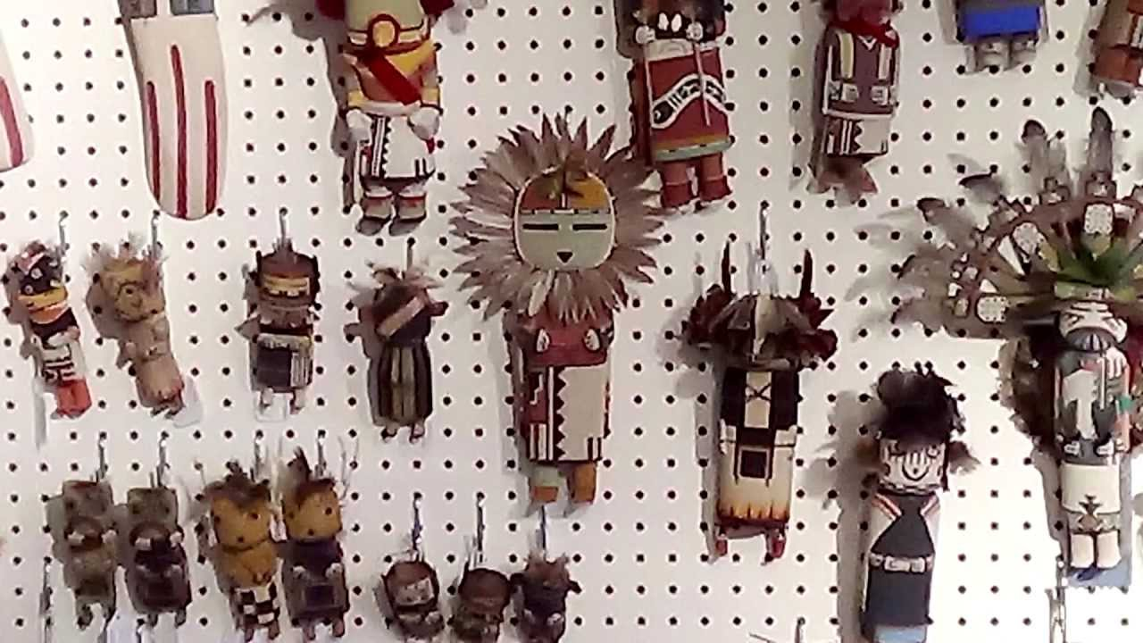 Native American Art And Collectibles Kachina House In