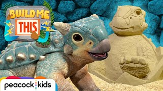 PREHISTORIC Sand Sculpture! | JURASSIC WORLDS BUILD ME THIS
