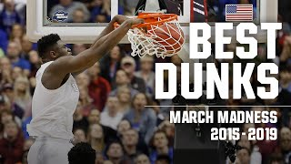 Best March Madness dunks in the last five seasons (2015-19)