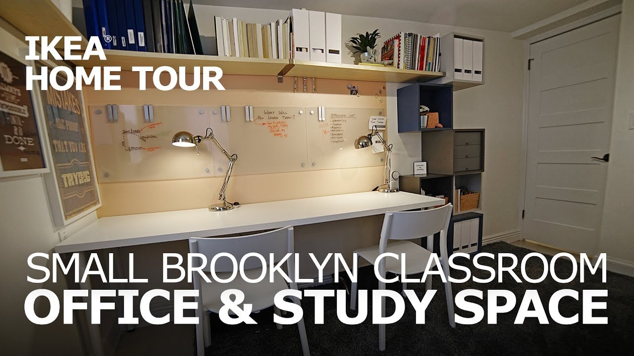 Small space office ideas teaser ikea home tour episode