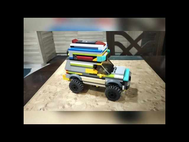 Lego Jeep by Arnav
