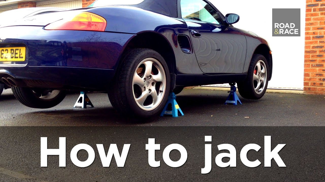 How to jack lift a car correctly step by step guide road race s01e03