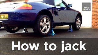 How to jack / lift a car correctly (Step by step guide) | Road & Race S01E03