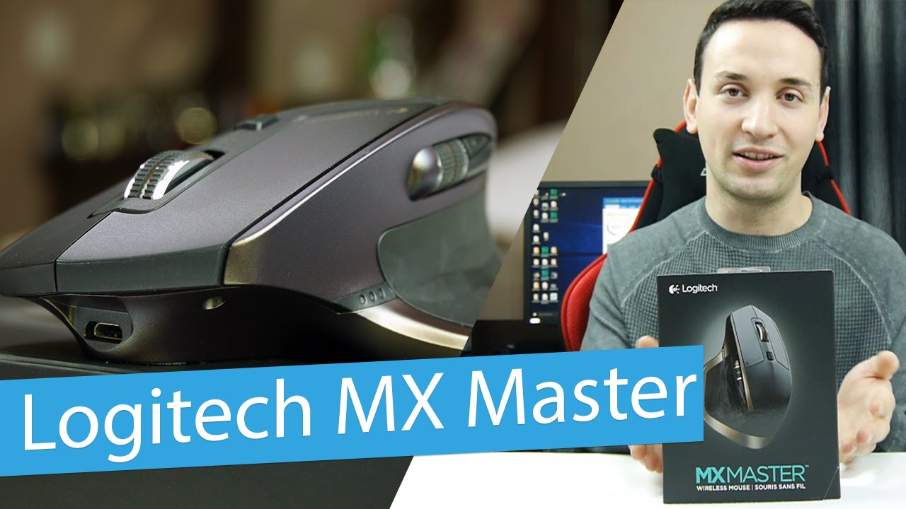 d53d5527146 Logitech MX Master Review - Bluetooth/Wireless Mouse - YouTube