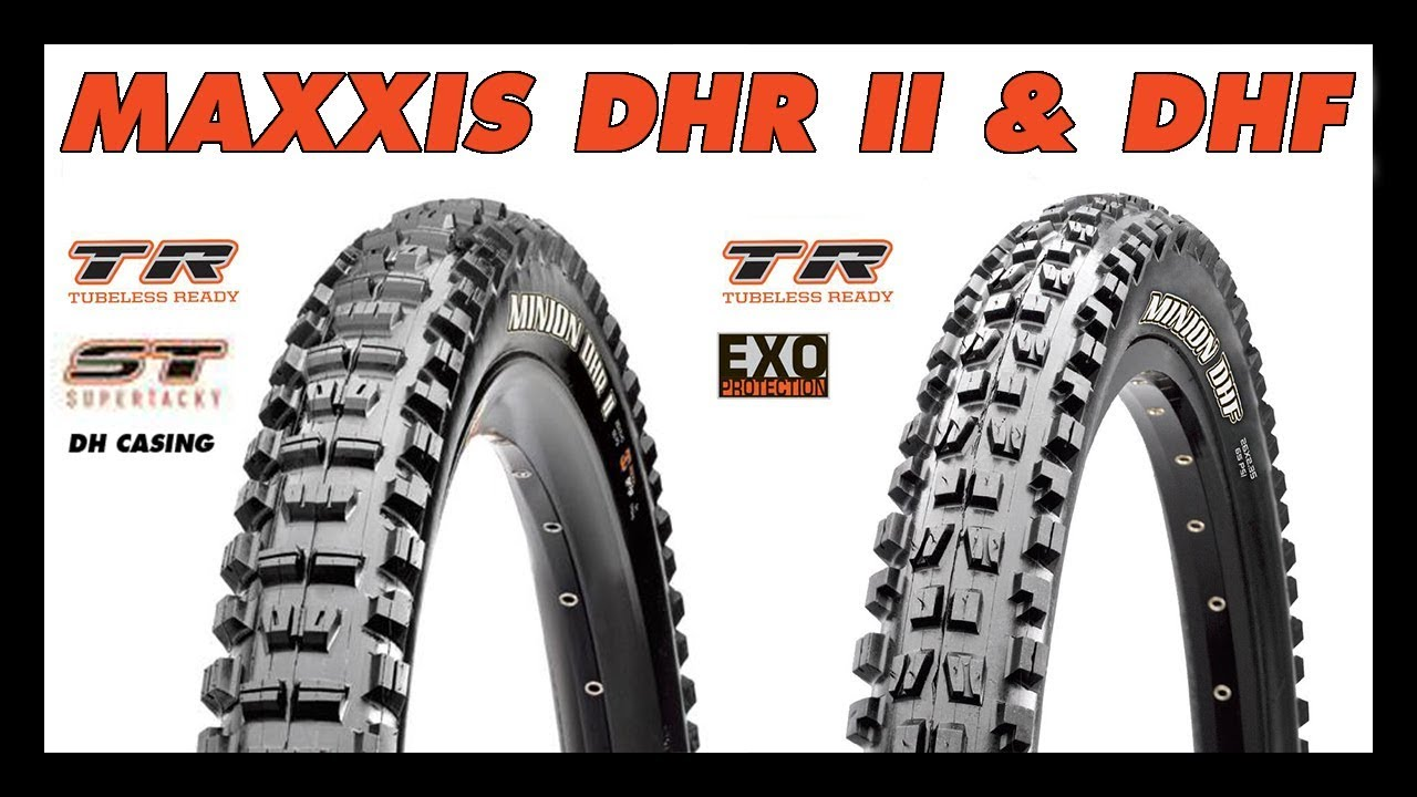 7720ce47b41 MTB Tire Review - Maxxis Minion DHF   DHR II