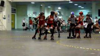 Roll Brittania - Rainy City Roller Girls vs London Rockin Rollers
