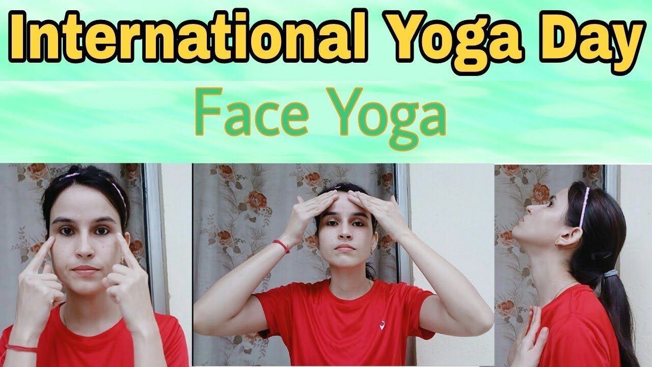 10 Easy Facial Yoga Exercises For Anti Aging | Preventing Wrinkles|  Reducing Face Fat & Double Chin