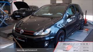 Reprogrammation moteur VW Golf VI GTI 2.0 TSI Ed. 35 235 @ 310 PS - ADP Performance 2