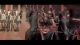 Ben-Hur... chariot race clip