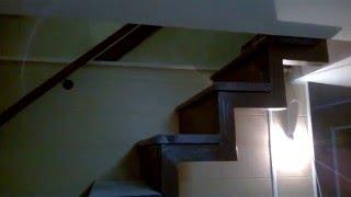 как сделать лестницу из профильной трубы/how to make the ladder of profile pipes