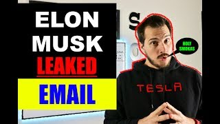 Leaked Elon Musk Email Sent To Tesla Employees! Is it real?!