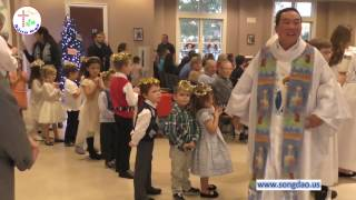 Lễ Giáng Sinh 2016 tại nhà thờ giáo xứ Saint Boniface