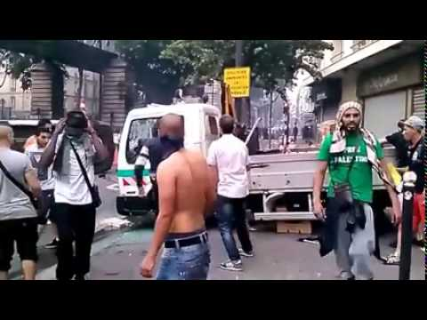 Rioting Muslims in France