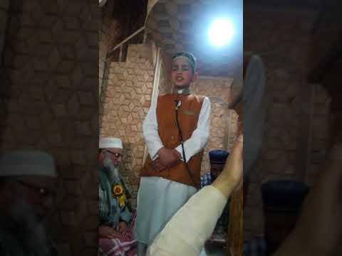 Little boy naat of Molana Mushtaq Ah Khan sab
