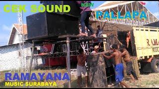 PEMASANGAN SOUND SYSTEM RAMAYANA MUSIC DAN CEK SOUND NEW PALLAPA