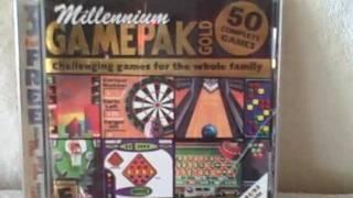 Millennium Gamepak Gold CD-Rom PC 50 Complete Games Valusoft UPC 755142100803