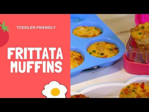 WATCH: Easy peasy frittata muffins with Annabel Karmel!