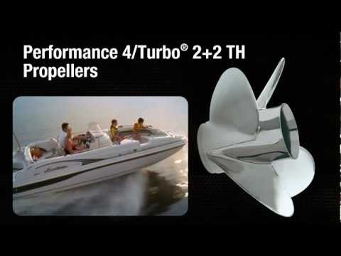 Yamaha's Performance 4 Propeller / Turbo 2+2 Propeller