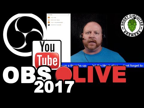 OBS Studio Tutorial 2017 - How I live stream with OBS and a Logitech C920