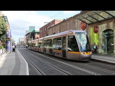 Dublin Ireland LUAS Tram/Light Rail