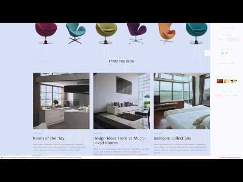 Geometry -  Interior Design and Furniture WordPress Theme