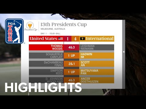 Highlights | Day 1 | Presidents Cup 2019