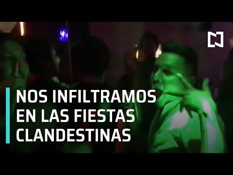 Reapertura clandestina de bares y antros en CDMX provoca repunte de contagios en jóvenes - En Punto
