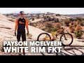 The Fastest Known Time on White Rim MTB Trail | Payson McElveen's Standing Man