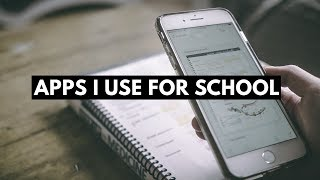 APPS I USE IN SCHOOL: what's on my iphone! (2018)