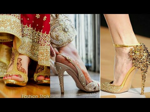 comfortable-bridal-shoes-|-bridal-sandals-|-beautiful-bridal-footwear-|-bridal-high-heel