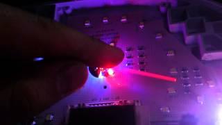 подсветка стрелок экспериментальная