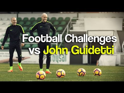 Football Challenge vs JOHN GUIDETTI 2017