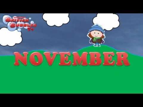 Los meses en ingles aprender en ingl s los meses del a o bbtv7 youtube - Aprender ingles en un mes ...