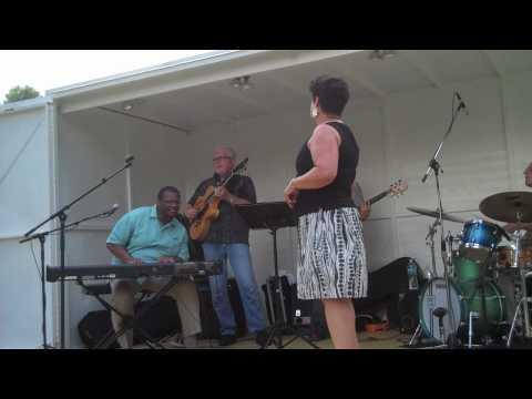Mardra and Reggie Thomas at O'Fallon Park 7/7/2010