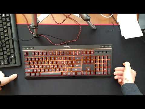 Клавиатура проводная HyperX Alloy Core RGB Membrane Gaming USB (HX-KB5ME2-RU)