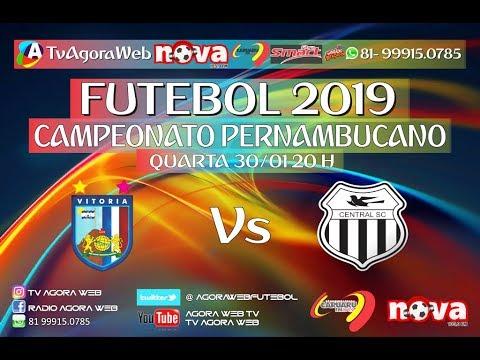 PERNAMBUCANO 2019 - VITÓRIA X CENTRAL 30/01