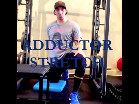 Hip Pain? Stretch Adductors