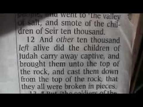 2 Chronicles 25 Holy Bible (King James)