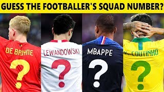 Can you guess tнe player's national team jersey number? | ⚽️ FOOTBALL QUIZ ⚽️
