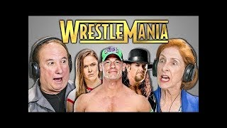 WWE Fan Reacts to Elders React to WrestleMania 34