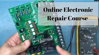 Introduction to my online electronic repair course