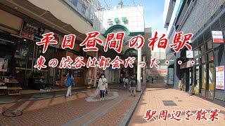 JR常磐線、平日春の柏駅周辺を散策!(Japan Walking around Kashiwa Station) 東武アーバンパークライン、野田線