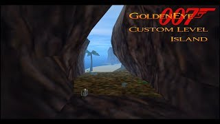GoldenEye 007 N64 - Island - 00 Agent (Custom level)