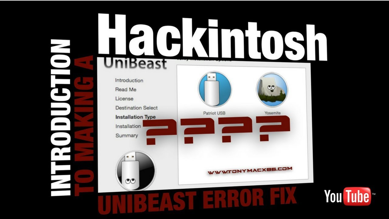 How to fix Unibeast Error `Selected Mac OS X Installer is Incomplete`