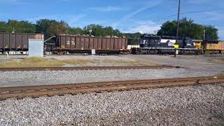 Norfolk Southern train head on collision with outbound train. 🚉🚦