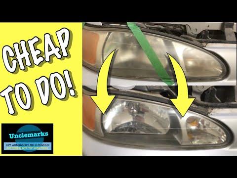 Can you buff your headlights with Mothers aluminium wheel polish?